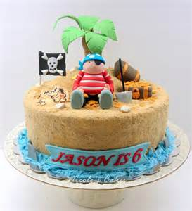 insel kuchen confections cakes creations pirate on a treasure island