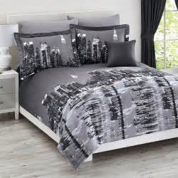 Bedroom Sets Nyc Total Fab New York City Themed Skyline Comforters Sets