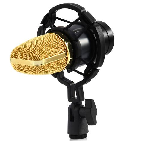 Microphone Bm700 For Recording pro condenser microphone kit bm700 with shock mount sound reverb