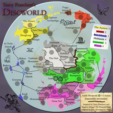 discworld map conquer club view topic discworld