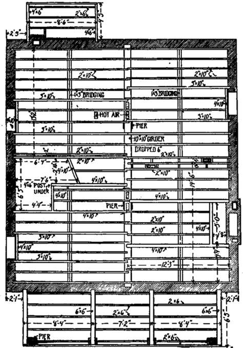 wood floor framing plan floor framing plan details images