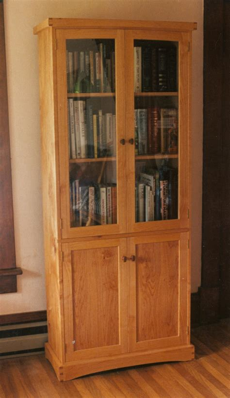 Book Cabinet With Doors Library And Book Cabinets