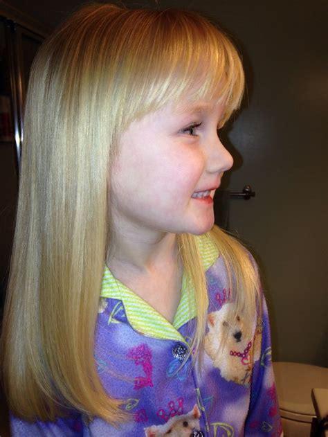 hairstyles for long hair little girl pin by ann gilson on abby s hair pinterest