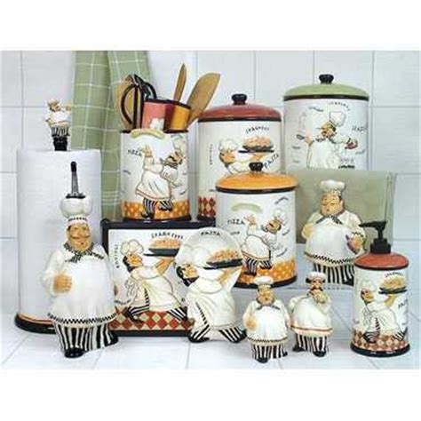 Tuscan Kitchen Canister Sets by Chef Decorations For Kitchen With More Ideas Creative