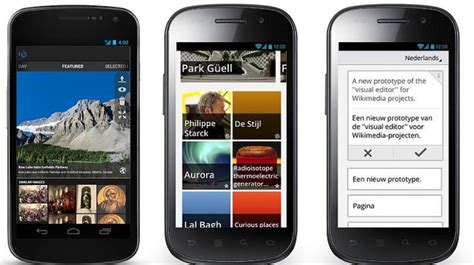 mobile app wiki s app redesigned now offers read on the go content