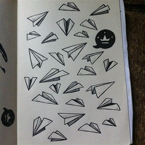 tattoo sketch paper paper plane planes and paper on pinterest
