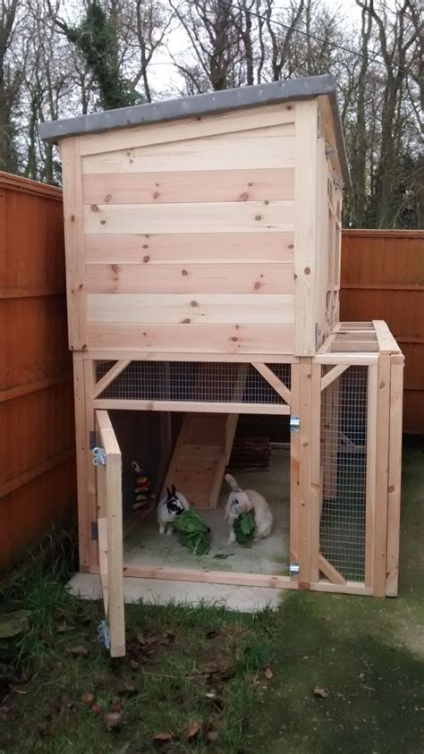 Handmade Rabbit Hutches - 25 best ideas about large rabbit hutches on