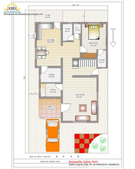 layout plan of duplex house duplex house plan and elevation 2310 sq ft kerala home design and floor plans
