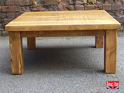 Chunky Pine Coffee Table Plank Pine Chunky Coffee Table Handcrafted By Incite Derby