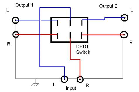 single pole throw toggle switch wiring diagram