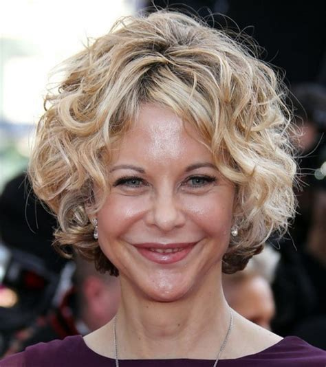 short hairstyles for 50 year old women with curly hair hairstyles 50 year old woman