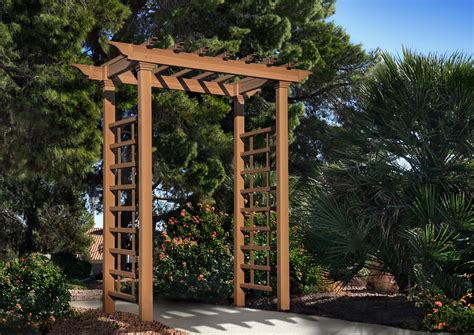 Pvc Arbors And Trellis new arbors carolina arbor outdoor living patio