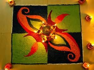 Latest easy diwali rangoli designs 2016