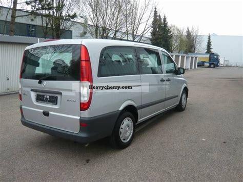 mercedes vito 113 cdi 8 seater 2011 estate minibus