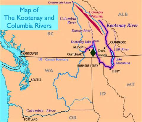 columbia river canada map nwnl columbia river basin 08 maps