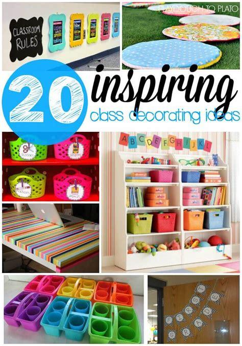 ideas for class 20 inspiring classroom decoration ideas playdough to plato