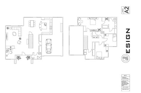 add furniture to floor plan floor and furniture plan for small house autocad other