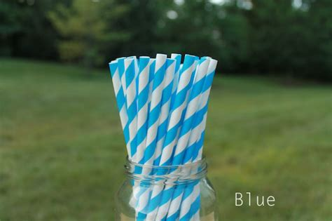 eco friendly paper straws multiple colors ecopartytime
