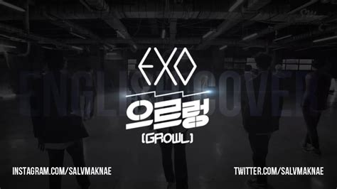 download mp3 exo growl english version exo growl a v english cover salvmaknae youtube