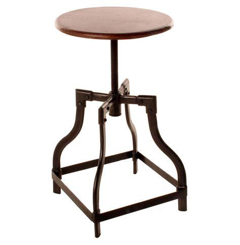 reclaimed teak wood adjustable height piano stool kathy