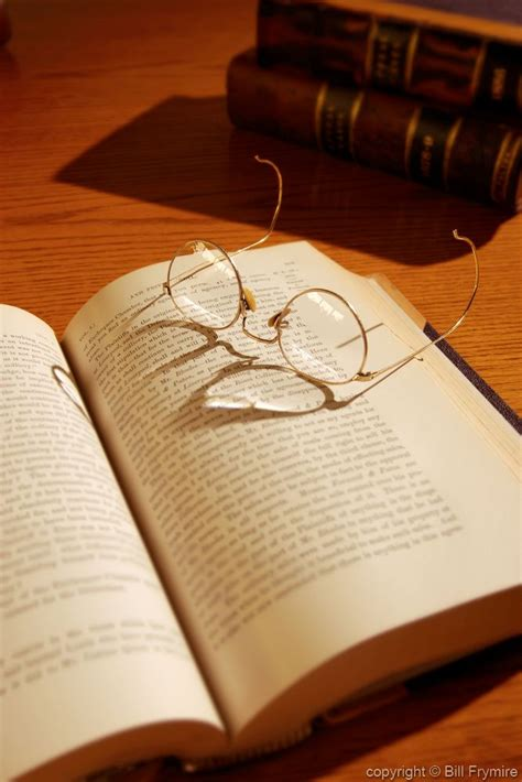 law books with glasses
