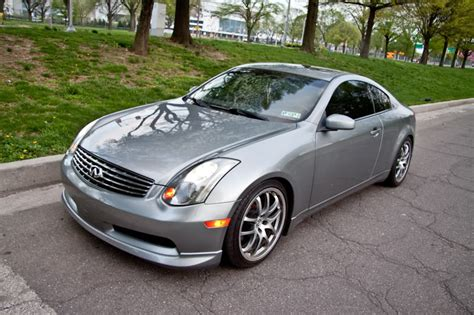 infiniti g35 front lip best front lip with oem splash g35driver infiniti g35