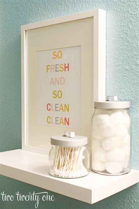 colorful bathroom printable free printable word