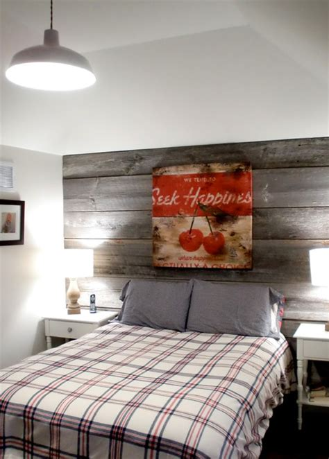 French Country Wall Sconces Barn Board Feature Walls Farmhouse Bedroom Toronto
