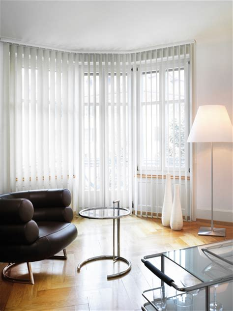bastoni per tende ad angolo vertical blinds by silent gliss vertical blind system