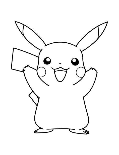 pintar pokemon imagenes de dibujos animados dibujos pikachu para dibujar imprimir colorear y