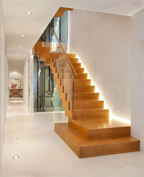 Contemporary Staircase Ideas Modern Staircase Decorating Ideas Transitional With White Wainscoting White Wainscoting