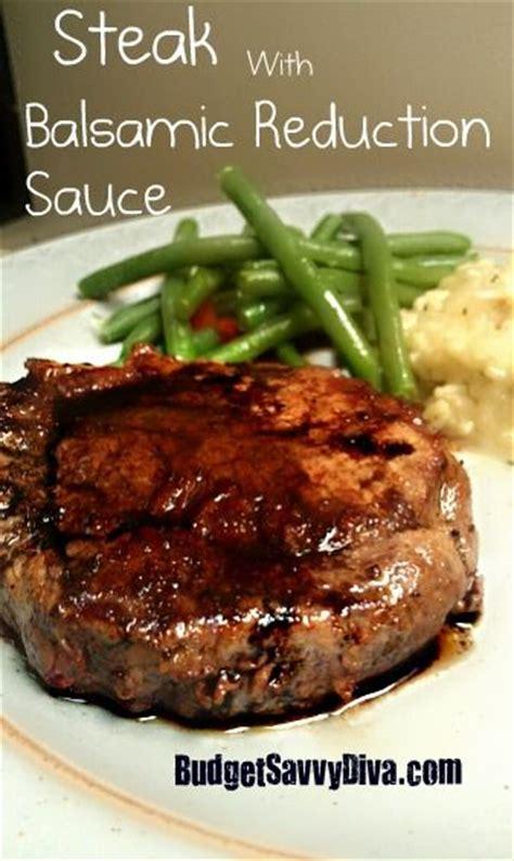 steak rub recipe balsamic reduction medium and sauces