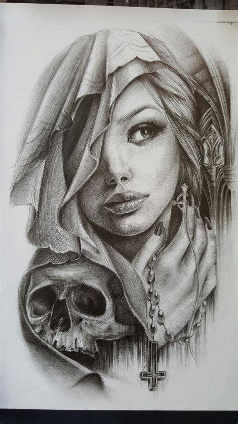 tattoo girl drawing tattoo pinteres