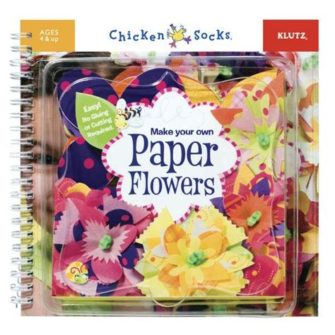 Make Your Own Paper Flowers - booktopia make your own paper flowers easy no gluing