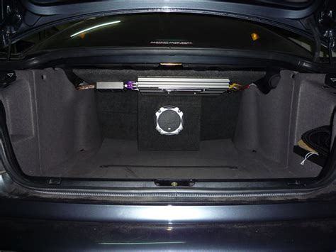 Speaker Subwoofer Rodek my audio solution with clif design speakers and aperiodic sub box