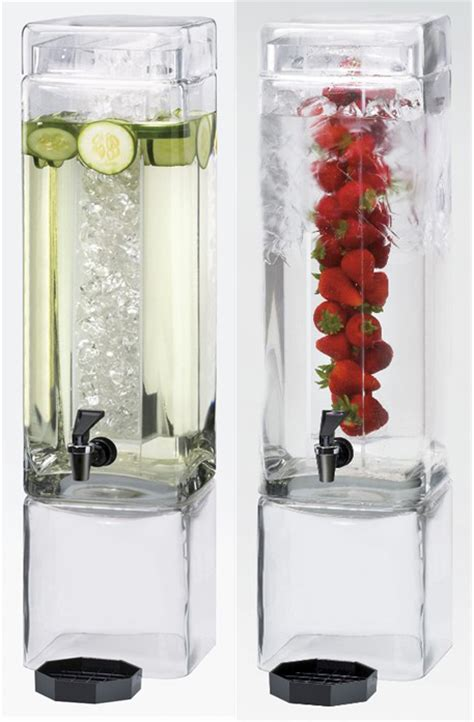 large water dispenser water refreshment w fruit creative breakfast concepts