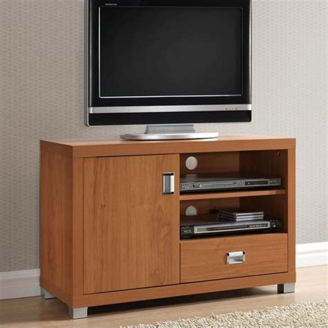Tv Stand With Drawers by Techni Mobili W Drawer Maple Finish Tv Stand Ebay