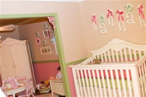 pink and green baby room sweet baby hannah s pretty pink and green nursery