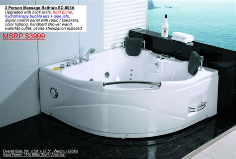 hot tub bathtub 2 person indoor hot tub jacuzzi bathtub sauna hydrotherapy