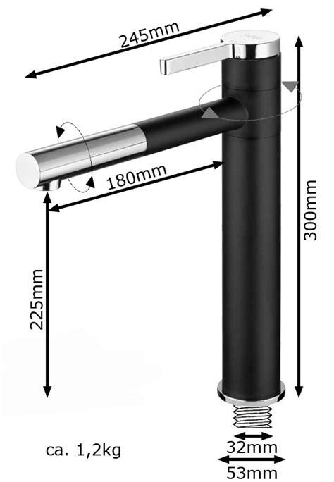 rubinetto moderno moderno bagno lavabo miscelatore rubinetto girevole nero
