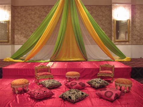 decoration and design mehndi stage decoration all home ideas and decor home