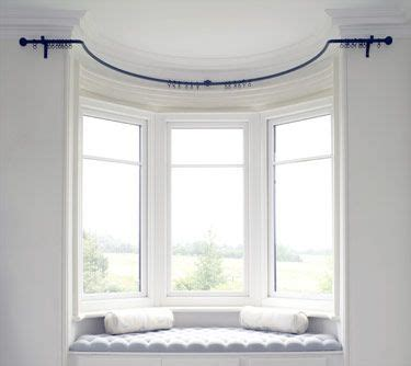 bay window curtain pole ceiling fix best 25 bay window blinds ideas on pinterest bay window