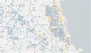 Chicago Metered Parking Map by City Clerk Debuts Online Residential Permit Parking Map