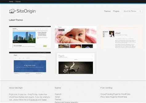 theme wordpress origin 20 excellent websites to download free wordpress themes