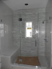 Shower Stalls With Glass Doors Frameless Glass Shower Enclosure Contemporary Shower Stalls And Kits New York By Atm