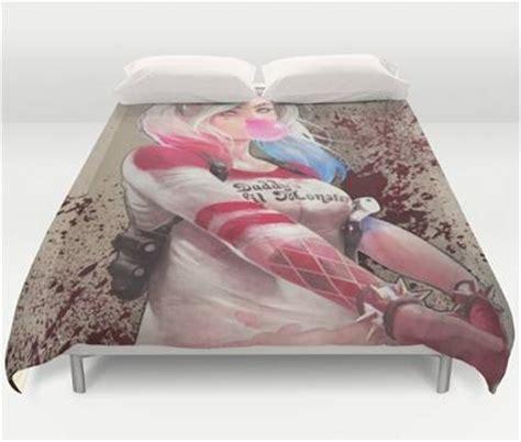 Harley Quinn Bed Set Villain Vixen Harley Quinn Squad Bedding