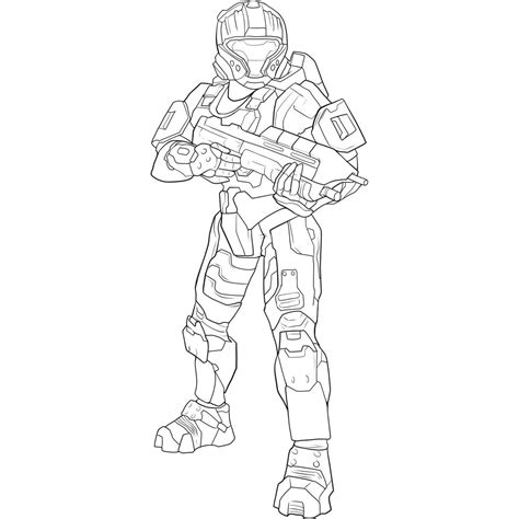 Printable Halo Coloring Pages Coloring Me Spartan Coloring Pages