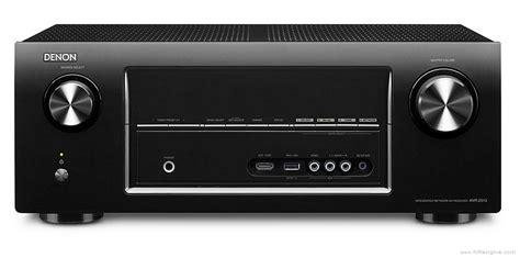 denon avr  manual integrated network av receiver