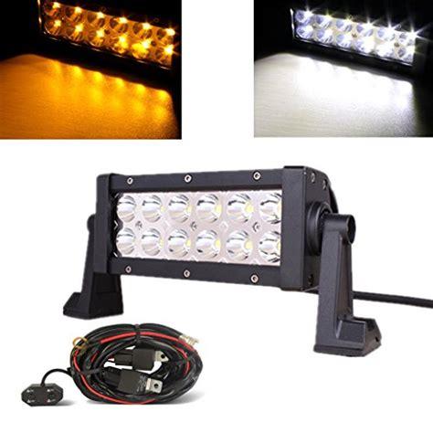 high intensity lights for trucks mictuning 7 5 36w amber white led work light bar spot