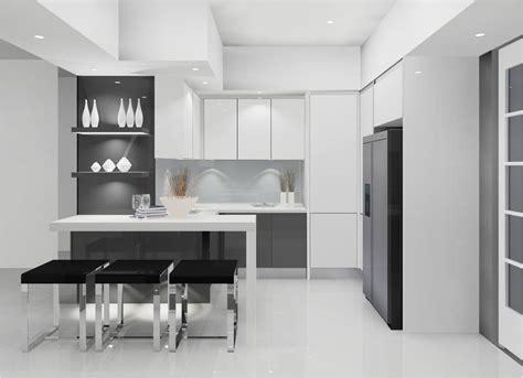 designer kitchen furniture meridian design kitchen cabinet and interior design malaysia a modern kitchen